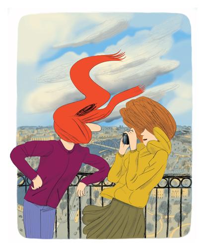Baisers ratés de Paris