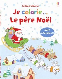 Je colorie… Le père Noël