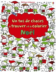 Un tas de choses à trouver et à colorier Noël