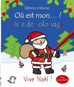 Où est mon… ? livre de coloriage Vive Noël