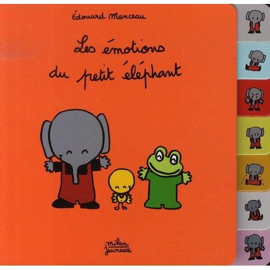 Les émotions du petit éléphant