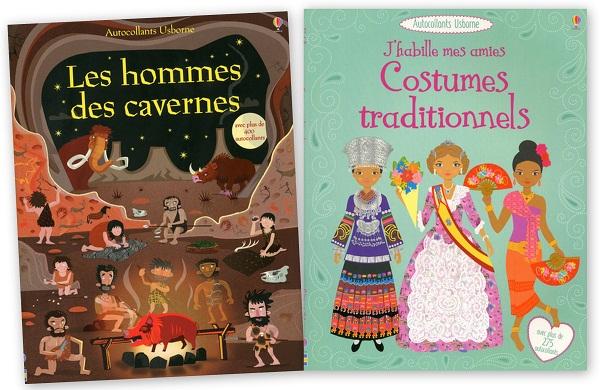 Les hommes des cavernes et Costumes traditionnels
