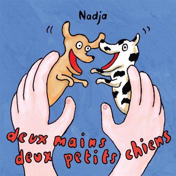 Deux Mains deux petits chiens