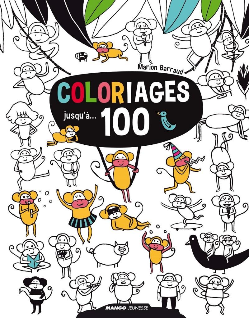 coloriages jusqu'à 100