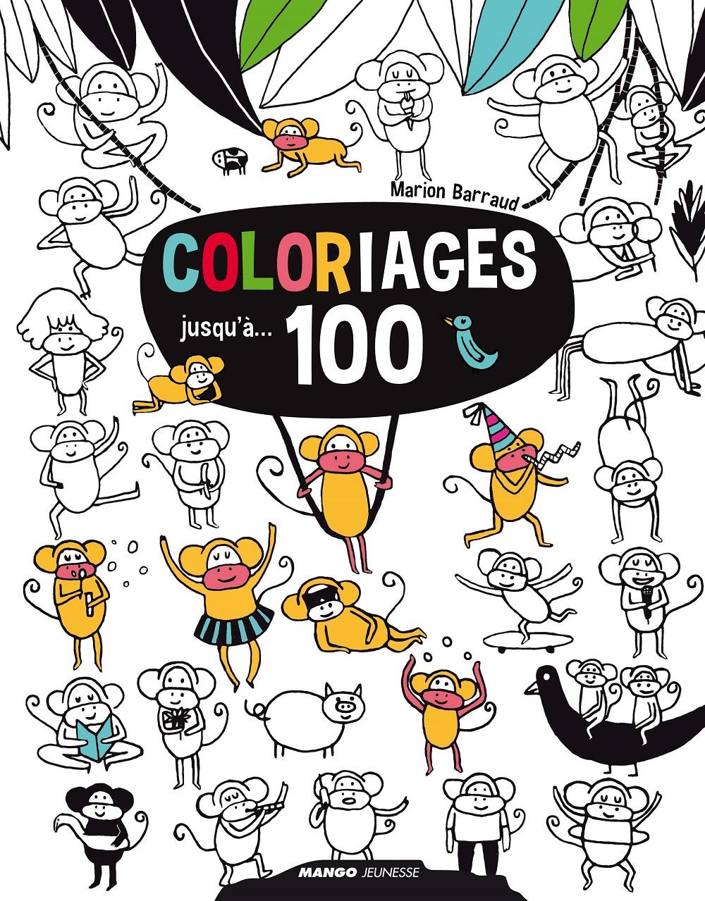 coloriages jusqu  100