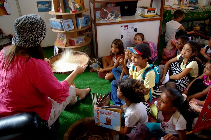 Salon du livre de jeunesse de l'océan Indien
