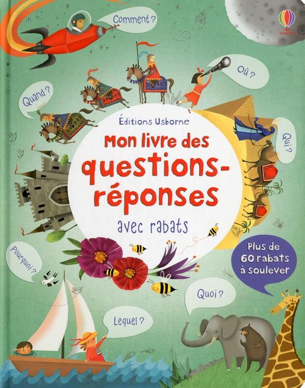 Mon livre des questions-réponses avec rabats