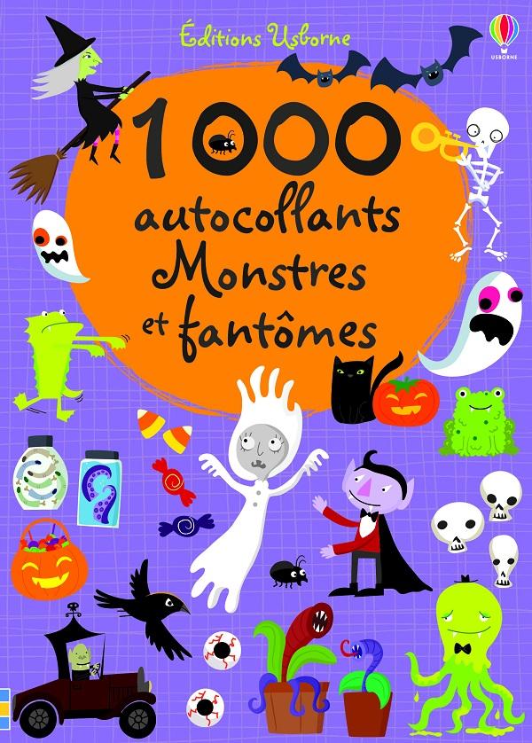 1000 autocollants Montres et fantômes
