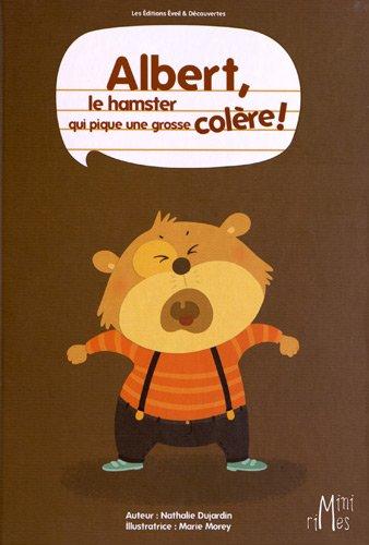 Albert le hamster qui pique une grosse colère