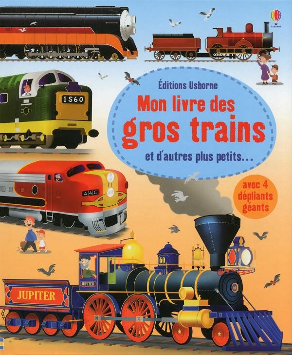 Mon livre des gros trains