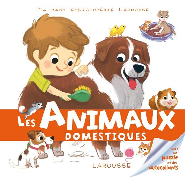 Baby encyclopédie Animaux Domestiques Couverture