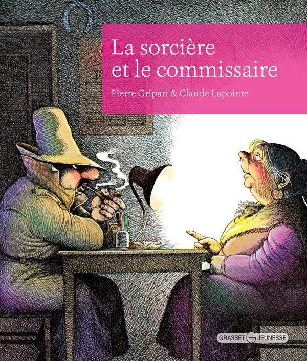 la sorcière et le commissaire