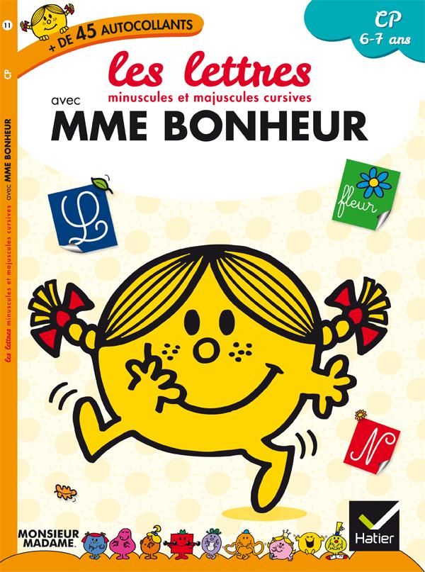 es lettres minuscules et majuscules cursives avec Mme Bonheur