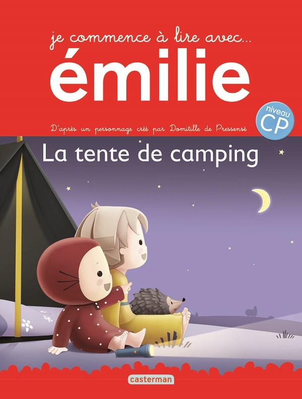 Je commene à lire avec émilie : La tente de camping