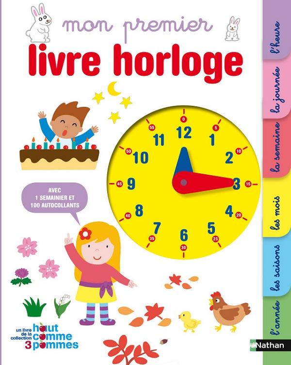 Mon premier livre horloge