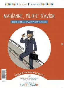 marianne pilote d'avion