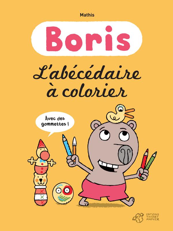 Boris L'abécédaire à Colorier