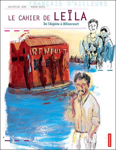 Le cahier de Leïla (de l'Algérie à Billancourt)