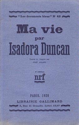 Ma Vie d'Isadora Duncan