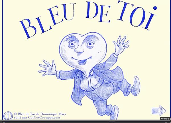 Bleu de toi