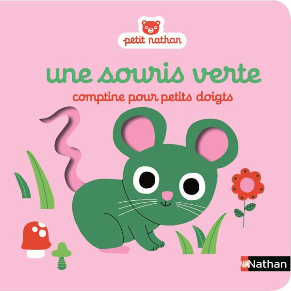 Une souris verte, comptine pour les petits doigts