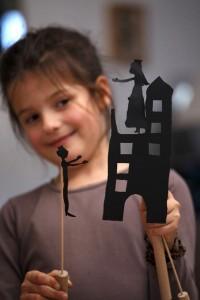 Kit de création de sihouettes d'ombres