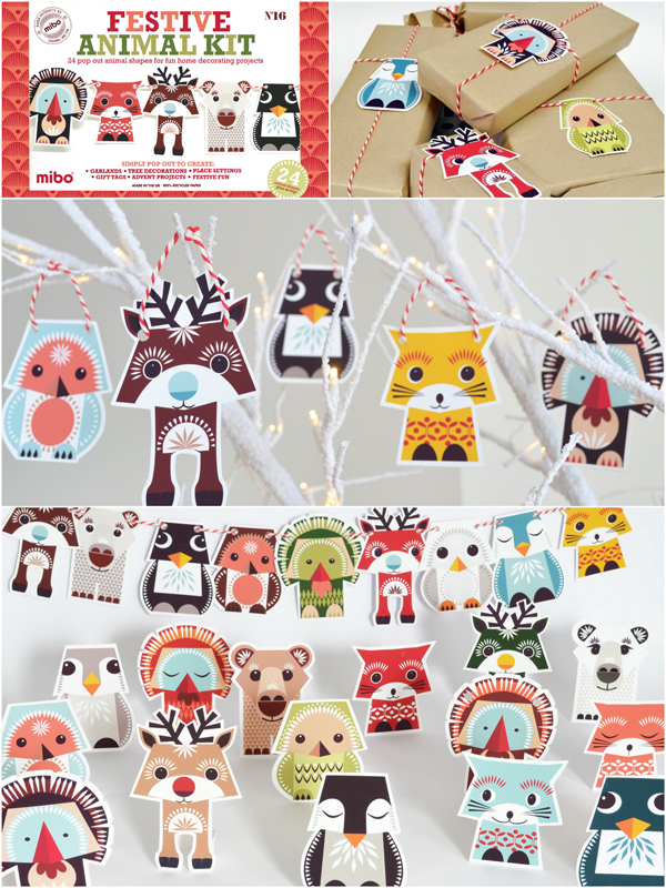 Festive animal kit