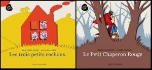 Chaperon rouge et trois petits cochons, Salomo