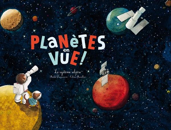 planètes en vue