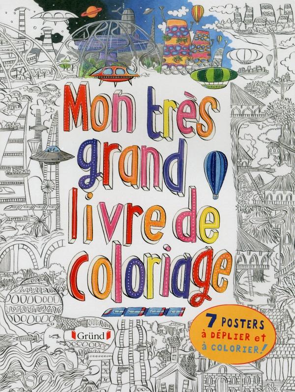 Mon très grand livre de coloriage