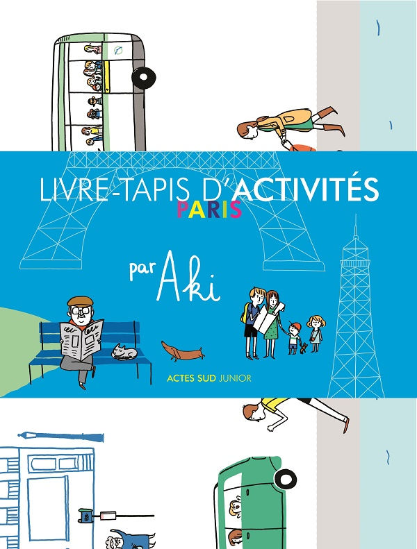 Livre-Tapis d'activités Paris