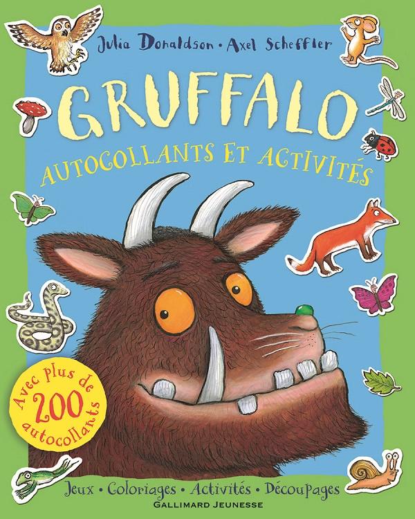 Gruffalo autocollants et activités