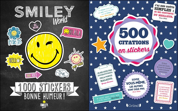 Smiley world 5000 citations en stickers