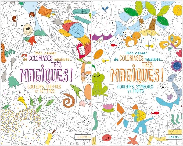 Coloriages magiques très magiques