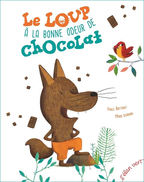 Le loup à la bonne odeur de chocolat