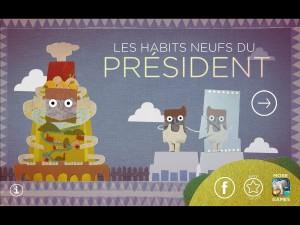 Les Habits neufs du président