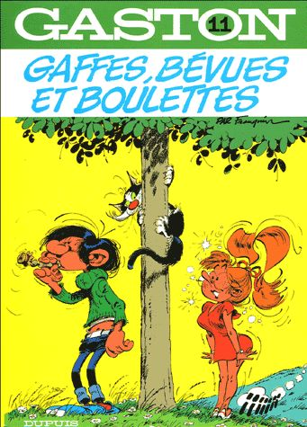 Gaffes, bévues et boulettes André Franquin