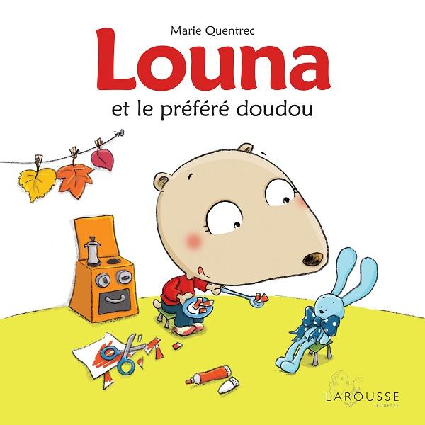 Louna et le préféré doudou