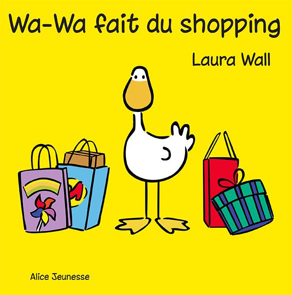 Wa-Wa fait du shopping