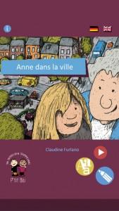 Anne dans la ville