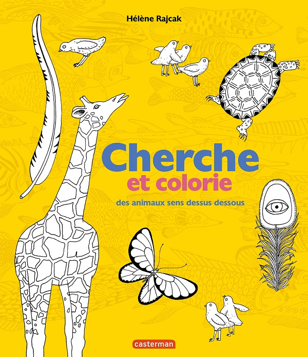 Cherche et Colorie - Des animaux sens dessus dessous