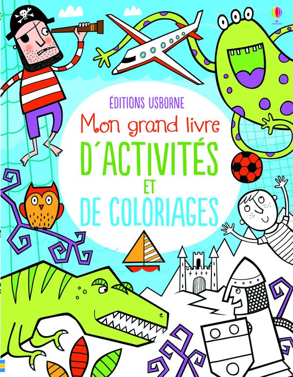 Mon grand livre d'activités