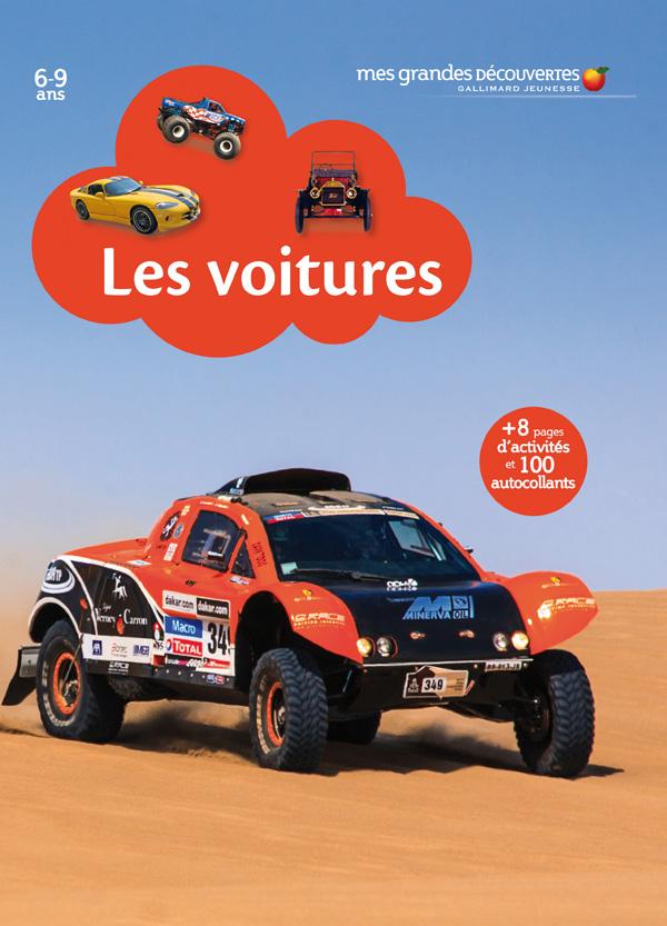 Les voitures Mes découvertes Gallimard