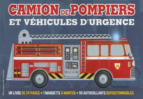 camion de pompiers et véhicules d'urgence