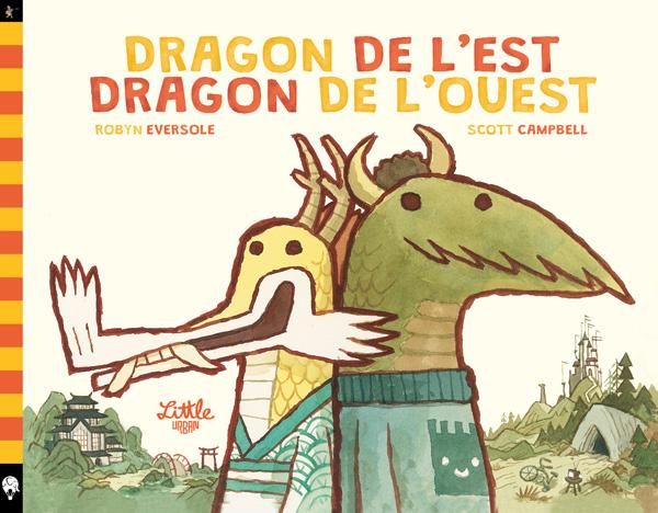 Dragon de l'est dragon de l'ouest